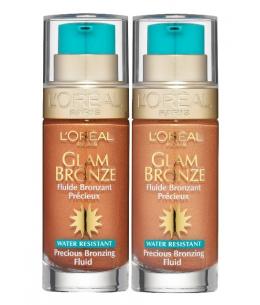 L´Oreal Glam Bronze Fluid samoopalovací fluid 30ml