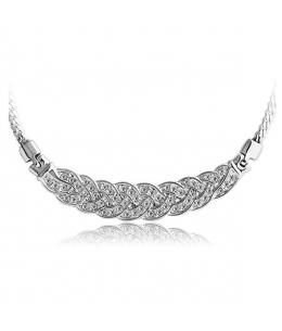 Luxusní náhrdelník se třpytivými krystaly