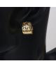 Pozlacené naušnice kroužky Gold Cercles se zirkony