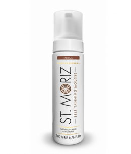 St. Moriz Self Tanning Mousse samoopalovací pěna 200ml - Medium, Dark