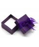 Dárková krabička na prsten - lesklá s mašličkou
