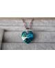 Elegantní ocelový náhrdelník Shamballa Discoballs - chirurgická ocel 316L