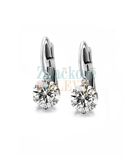 Ocelové náušnice Xirius Chatons s krystaly Swarovski - chirurgická ocel 316L