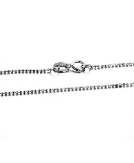 Stříbrný kuličkový řetízek Ball 45cm z pravého stříbra (925/1000)