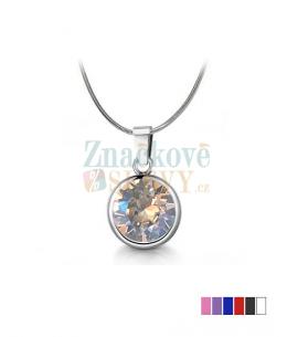 Ocelový náhrdelník Xirius Chatons s krystaly Swarovski