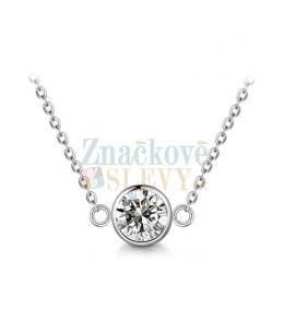Ocelový náhrdelník Pure Chatons s krystaly Swarovski - chirurgická ocel 316L