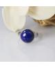 Ocelový prsten Gemstone s přírodním kamenem - chirurgická ocel 316L
