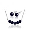Ocelový set Gemstone Beads s přírodními kameny - modrý Avanturín