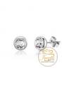 Ocelové náušnice Minimalist s krystaly Swarovski - chirurgická ocel 316L
