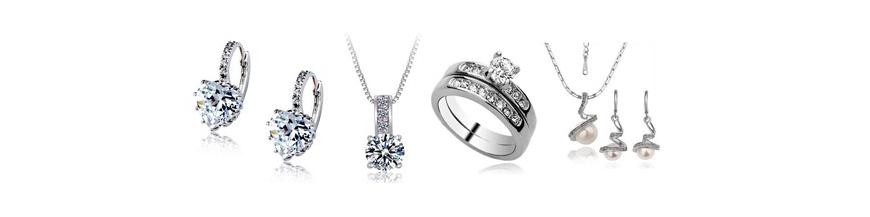 Bižuterní šperky (rhodiované, postříbřené či pozlacené)
